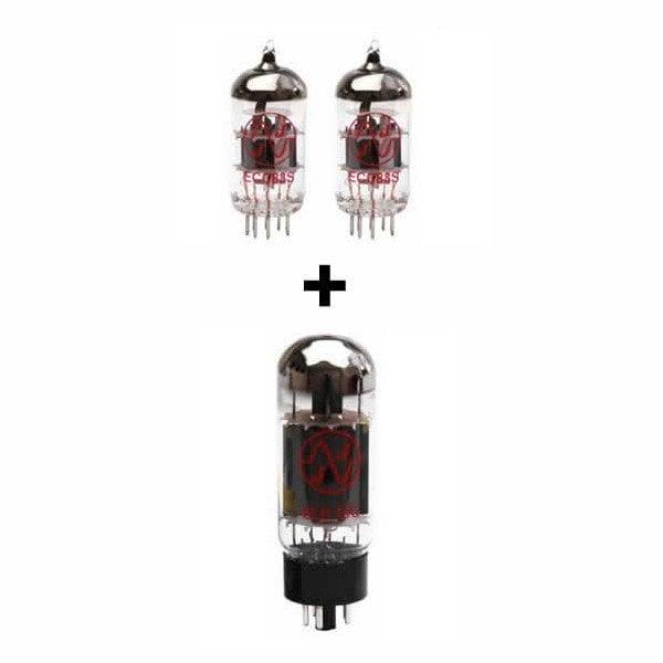 Jeu de lampes de rechange pour Fender Ramparte (2 x ECC83 1 x 6L6GC)